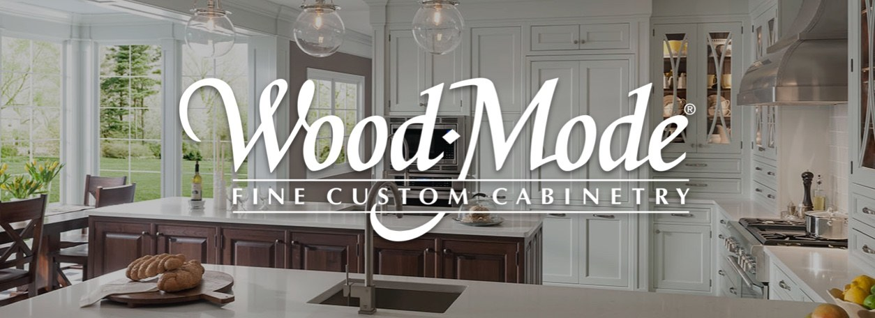 Wood-Mode Fine Custom Cabinetry with kitchen background