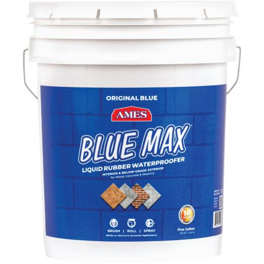 Ames Blue Max 5 Gal. Liquid Rubber Membrane Waterproofing Coating