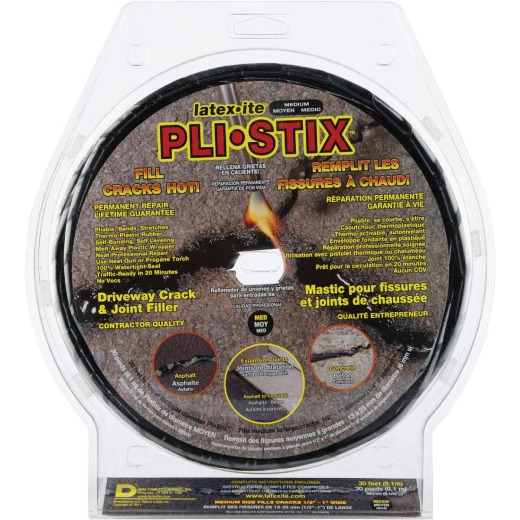 Latex-ite Pli-Stix 30 Ft. Driveway Crack and Joint Filler