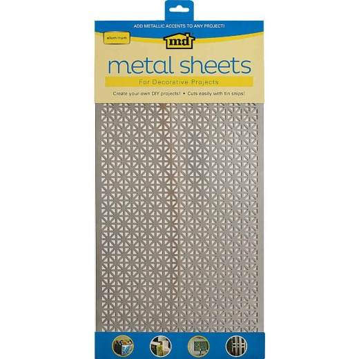 M-D 1 Ft. x 2 Ft. x .020 In. Union Jack Metal Sheet Stock