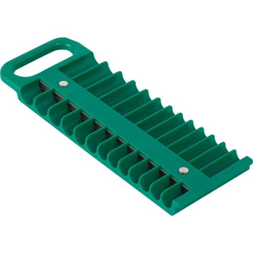 Channellock 1/4 In. Plastic Socket Holder Tray with Magnetic Holder and Back