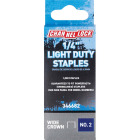 Channellock No. 2 Light Duty Wide Crown Staple, 1/4 In. (1000-Pack) Image 1
