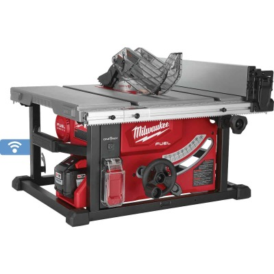 Milwaukee M18 FUEL 18-Volt Lithium-Ion Brushless 8-1/4 In. Cordless Table Saw Kit, ONE-KEY Compatible