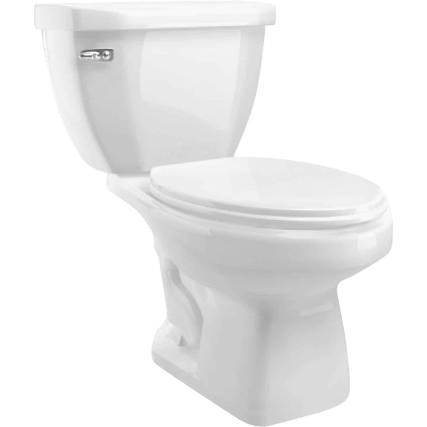 Cato Terra White Elongated Bowl 1.28 GPF Toilet-To-Go Image 1