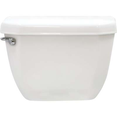 Cato White Vitreous China 1.28 GPF Toilet Tank