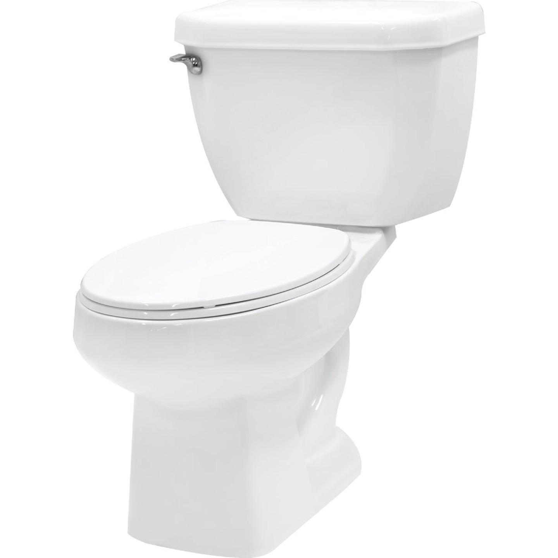 Cato White Vitreous China 1.28 GPF Toilet Tank Image 2