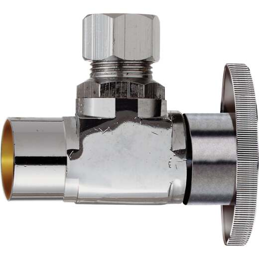 Do it 1/2 In. Sweat 3/8 In. OD Compression Quarter Turn Angle Valve