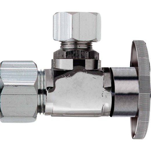 Do it 5/8 In. OD x 1/2 In. OD Quarter Turn Angle Valve