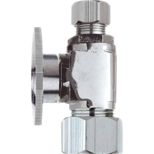 Do it 5/8 In. OD x 3/8 In. OD Quarter Turn Straight Valve