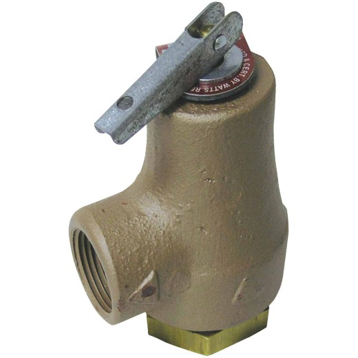 Watts Regulator 3/4 In. FIPS X 3/4 In.FIPS Forged Bronze Pressure Relief Valve