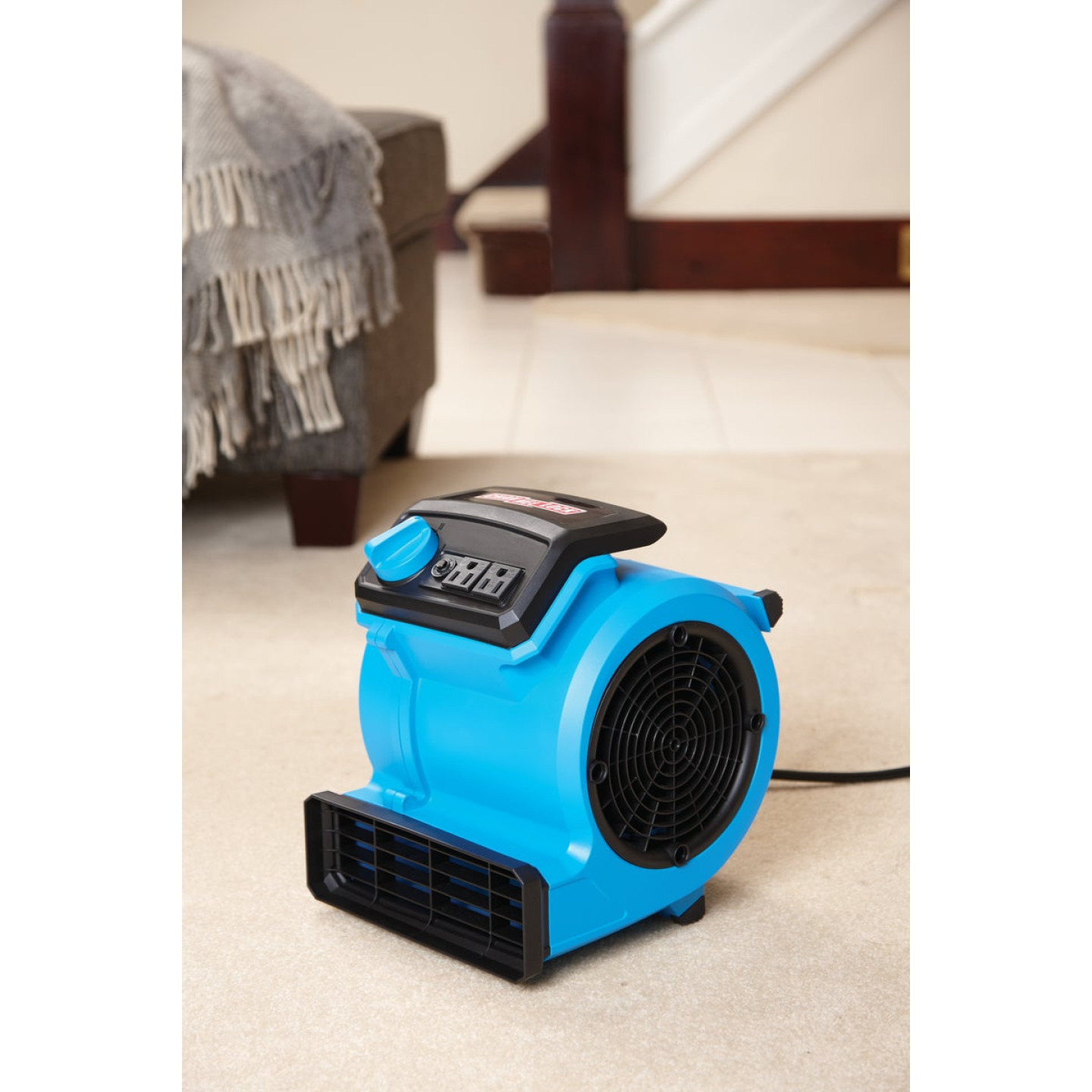 Channellock 3-Speed 3-Position 550 CFM Air Mover Blower Fan Image 3