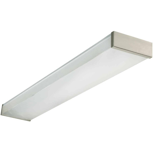 Lithonia 4 Ft. 2-Bulb Fluorescent Decorative Wraparound Light Fixture
