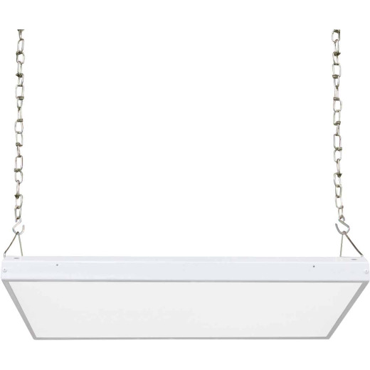 Satco Nuvo 15-15/16 In. W. x 1-31/32 In. H. x 22 In. L. LED High Bay Grid Light Fixture