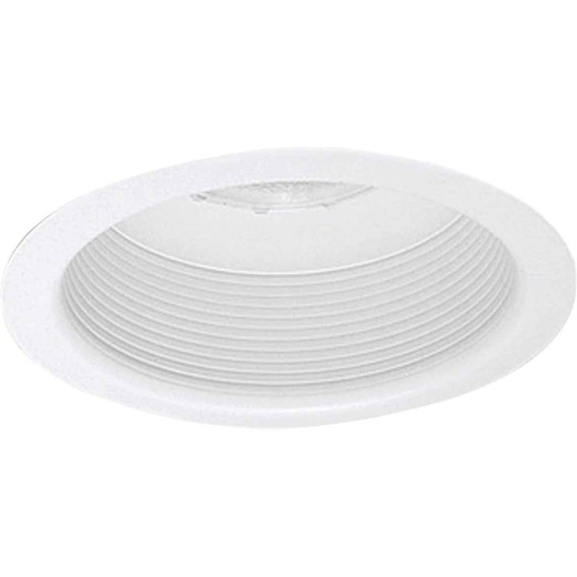 Thomas White Trim w/Fully Enclosed White Baffle Recessed Fixture Trim