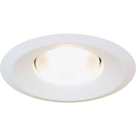 Thomas 6 In. White Splay Recessed Fixture Trim