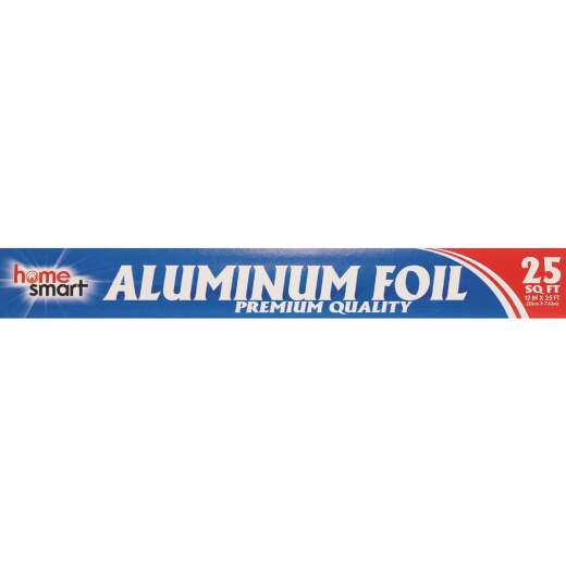 "Home Smart 25 sq ft Heavy-Duty 12"" Aluminum Foil"