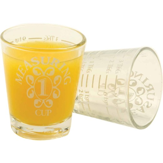 Norpro Clear Shot Glass Measuring Cup