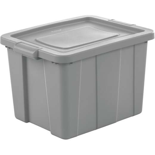 Sterilite Tuff1 18 Gal. Cement Tote with Handles
