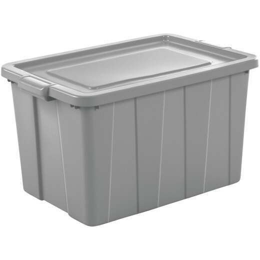 Sterilite Tuff1 30 Gal. Cement Tote with Handles