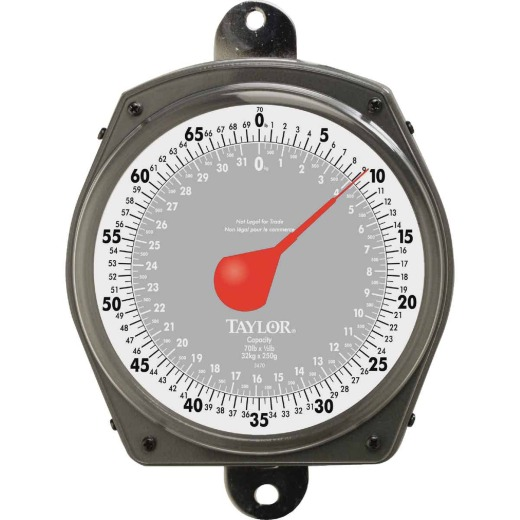 Taylor 70 Lb. Capacity Dial Hanging Scale