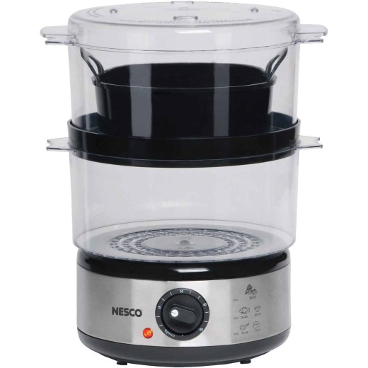 Nesco 5 Quart Stainless Steel Food Steamer