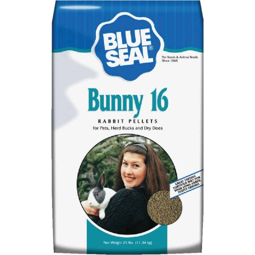 Blue Seal Bunny 16 25 Lb. Rabbit Food Pellets