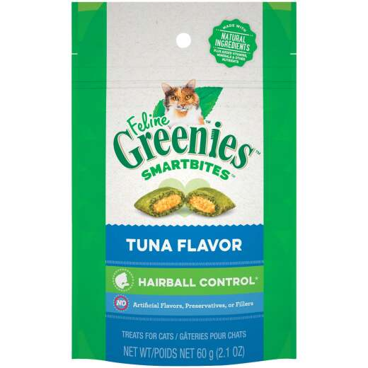 Greenies SmartBites Tuna 2.1 Oz. Hairball Control Cat Treats