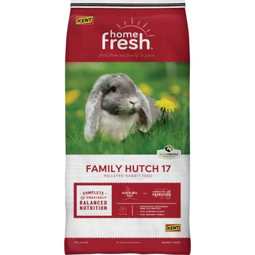 Kent Home Fresh Family Hutch 17 25 Lb. Rabbit Food Pellets
