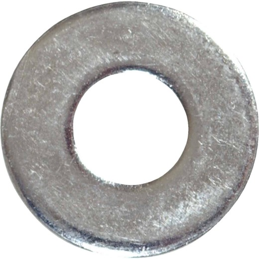 Hillman #6 Steel Zinc Plated Flat SAE Washer (100 Ct.)