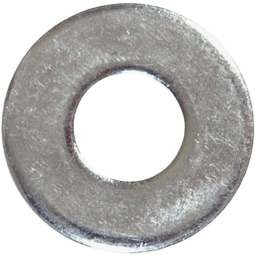 Hillman #10 Steel Zinc Plated Flat SAE Washer (100 Ct.)