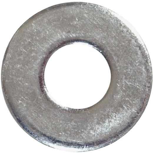Hillman 1/4 In. Steel Zinc Plated Flat SAE Washer (100 Ct.)