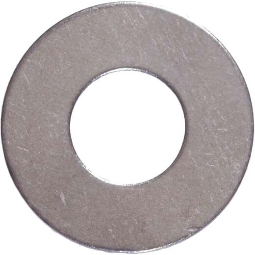 Hillman #6 Stainless Steel Flat Washer (100 Ct.)