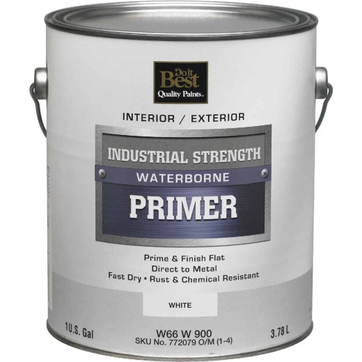 Do it Best Industrial Strength Waterborne Primer, White, 1 Gal.