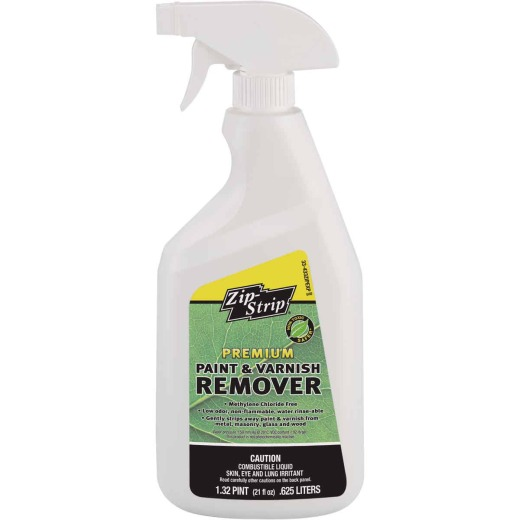 Zip-Strip 21 Oz. Premium Methylene Chloride Free Paint & Varnish Remover with Sprayer