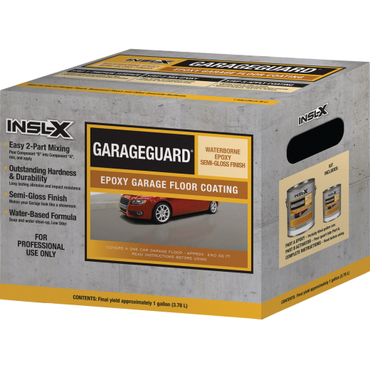 Insl-X GarageGuard 1 Gal. Desert Tan Epoxy Garage Floor Coating