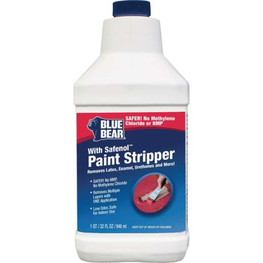 Blue Bear with Safenol 1 Qt. Paint & Varnish Stripper