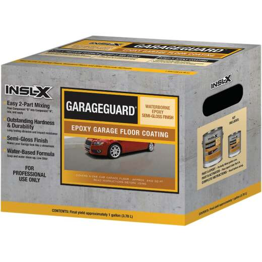 Insl-X GarageGuard 1 Gal. Showroom Gray Epoxy Garage Floor Coating