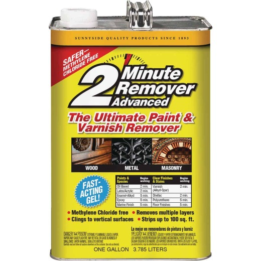 Sunnyside 2 Minute Remover Advanced Ultimate Gal. Gel Paint & Varnish Remover