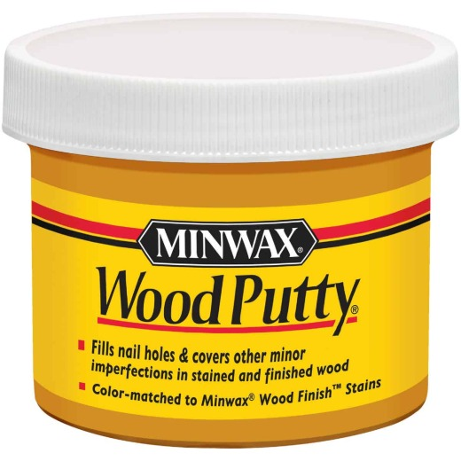Minwax 3.75 Oz. Colonial Maple Wood Putty