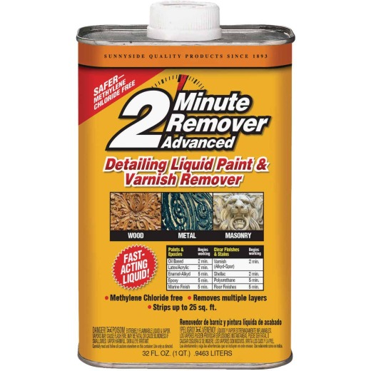 Sunnyside 2 Minute Remover Advanced Detailing Qt. Liquid Paint & Varnish Remover