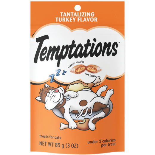 Temptations Tantalizing Turkey 3 Oz. Cat Treat