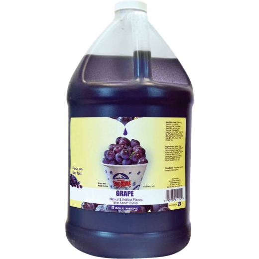 Gold Medal Grape Sno-Kone Syrup, 1 Gal.